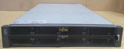 Fujitsu Eternus CS800 S2 DX80 Array 24TB HDD CA07237-E120 2x CA07145-C661 I/O